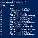 Powershell ile DNS Client Islemleri