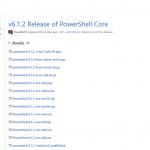 Powershell Core v6.1.2